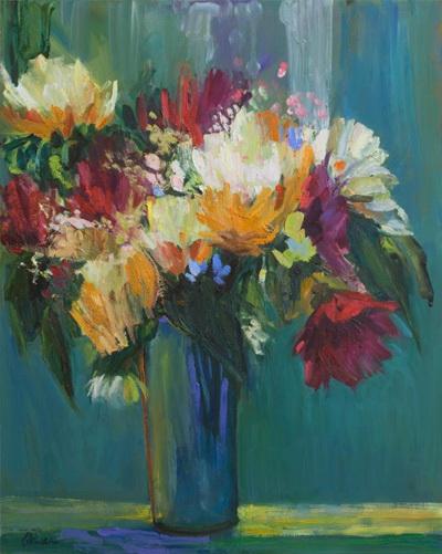 Blooming Blooms 24x30