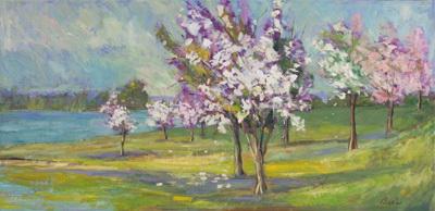 Blossom Time 21x44