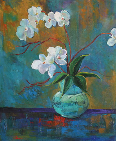 Enchanting Orchids 30x36