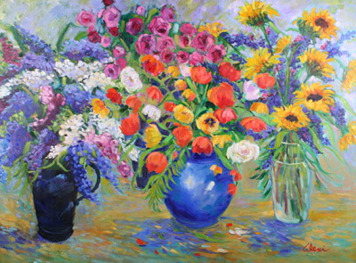 Florist Shop 36x48