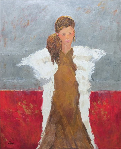 Holiday Angel 48x60