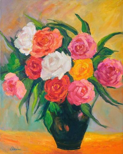 Lovely Roses 24x30