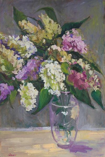 Millies Lilacs 20x30