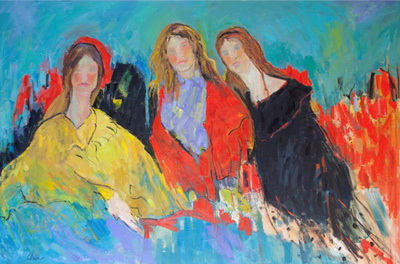 The Great Dames 72x48