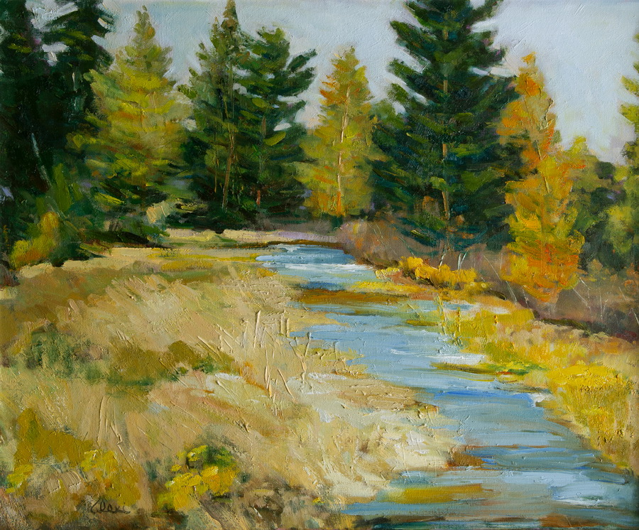 Creekside 24x30