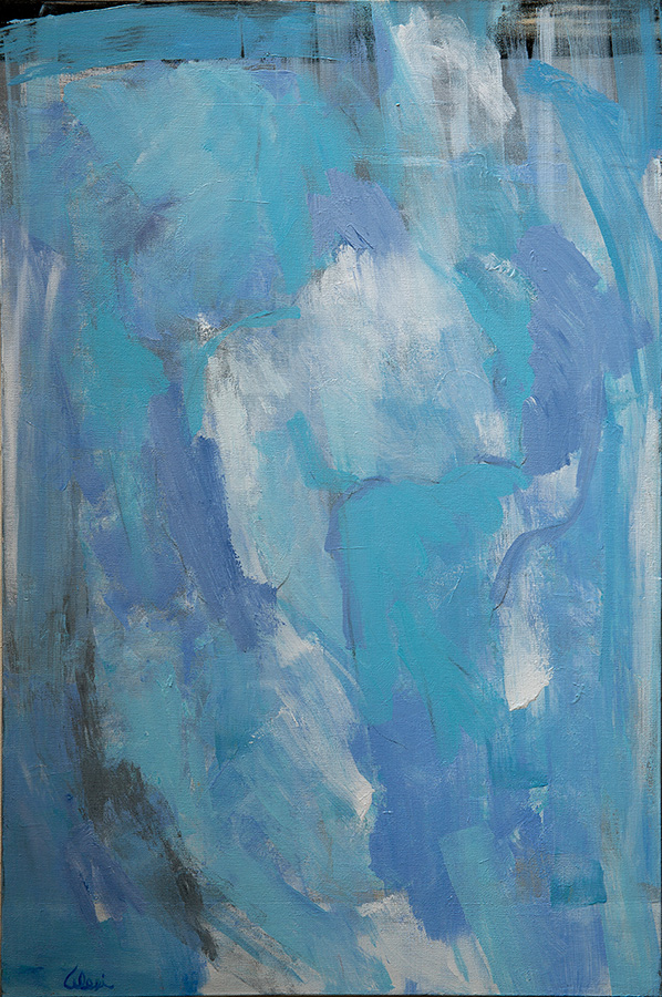 Dreamy Blues 1 24x36