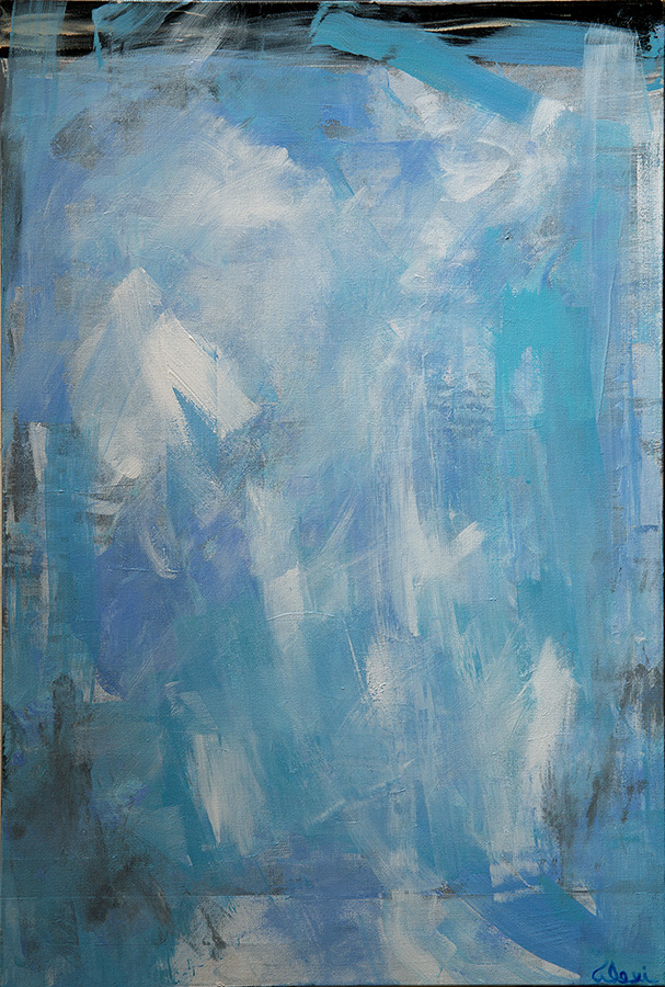 Dreamy Blues 2 24x36