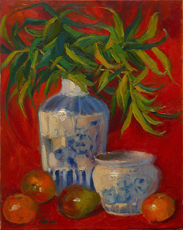 Ginger Jar Joy 16x20