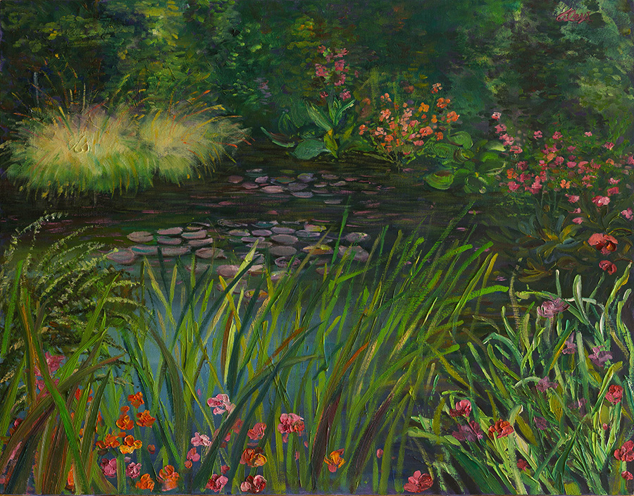 Giverny Joy 24x30