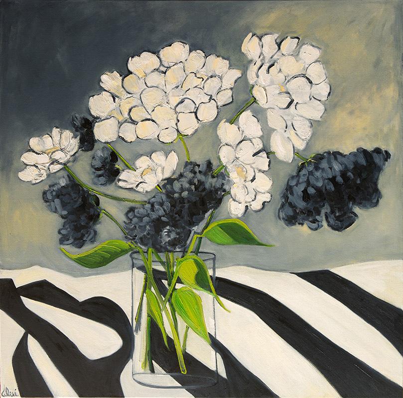 Noirs Et Blancs 36x36
