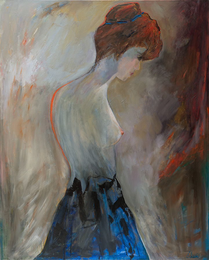 The Woman 48x60